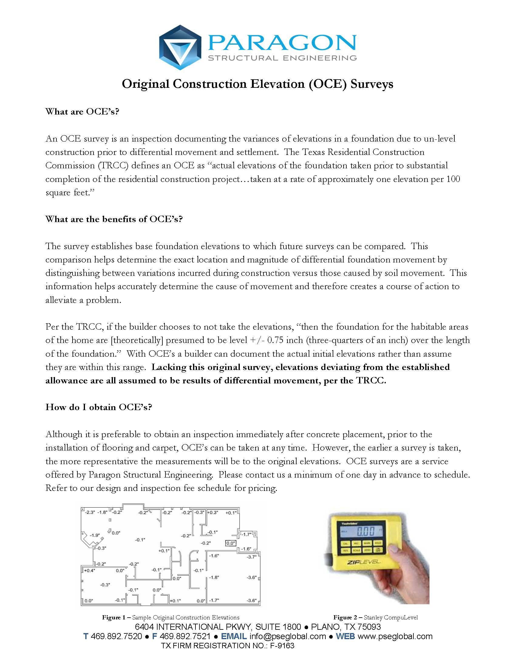 construction elevation brochure
